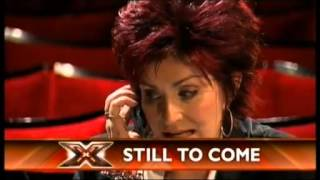 The X Factor 2004 Boot Camp Part 1