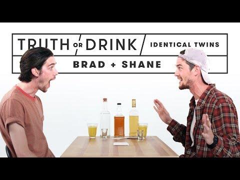 Identical Twins Play Truth or Drink Brad & Shane Truth or Drink Cut