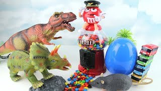 Dinosaurs Surprise Eggs, Monster from M&M
