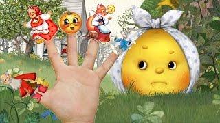 Колобок Kolobok Симбирская сказка - сказка для детей - веселые песенки - семья пальчиков