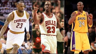 10 Greatest NBA Players of all Time