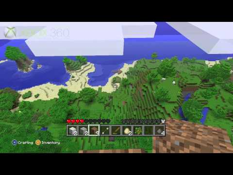 Minecraft Xbox 360 gameplay: OXM Trolling