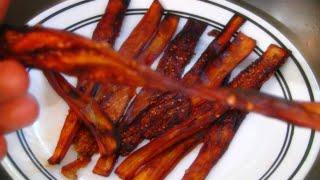 Eggplant Bacon Recipe ✦ Vegan