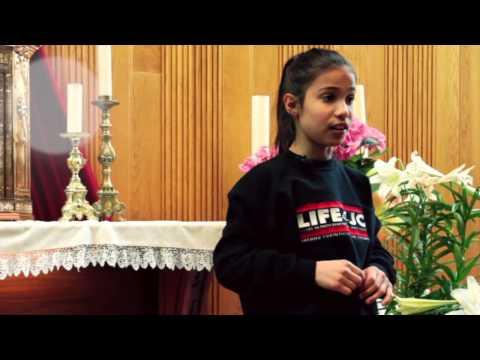 10-YEAR-OLD GIRL'S INSPIRATIONAL SPEECH ON SELFESTEEM
