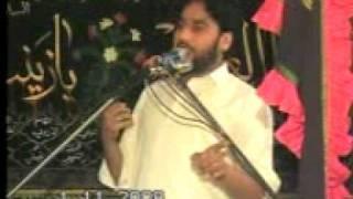 zakir waseem bloch  - janb e zainab s.a
