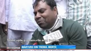India: 23 de persoane arse de vii într-un tren