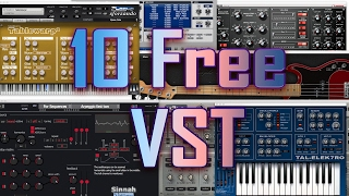 Top 10 Free  Synth VST Plugins 2017