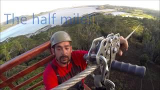 Ziplining at Koloa Zipline Tours in Kauai