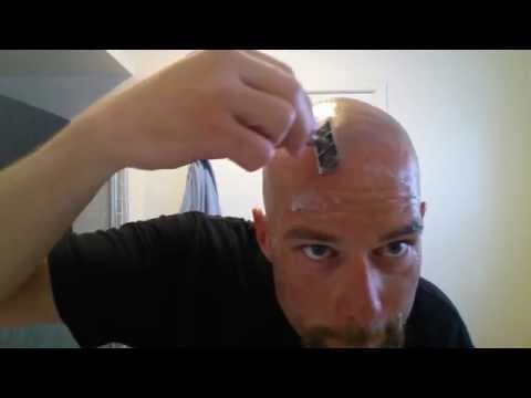Head Shave w/ Double Edge Tutorial