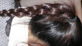 4-Strand 3D Round Chain Braid Hairstyle Hair Tutorial