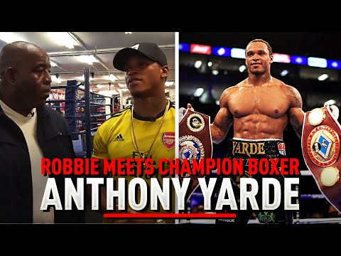 Champion Boxer & Gooner Anthony Yarde Talks Arsenal & His World Title Fight