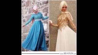 Mezuniyet ve Düğün, Kına içi Tesettür Abiye Elbise Modelleri büyük İNDİRİM !