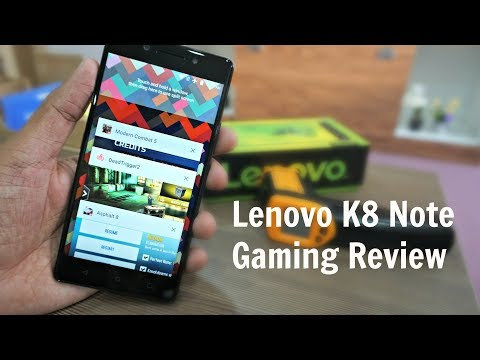 Lenovo K8 Note Gaming Review, Temperature Check