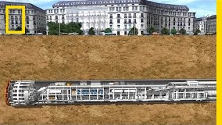 Why a Giant Machine Is Digging a Tunnel Under D.C. | National Geographic