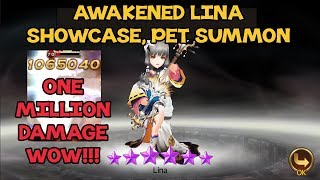 Seven Knights -  1600 Rubies Pet Summon, Awakened Lina Showcase & 2x A Rank Chest ~ !