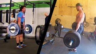 Rich Froning vs Josh Bridges - 16.4 CrossFit Open