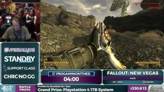 Fallout: New Vegas by progamingwithed in 24:00 - Awesome Games Done Quick 2017 - Part 59