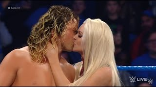 Dolph Ziggler and Maryse Kiss - WWE Smackdown LIVE Sept 6 2016