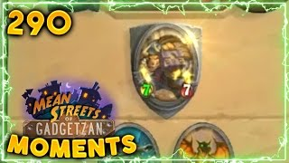 Surprising Public Defender Luck!!   Hearthstone Daily Moments Ep. 290 (Funny and Lucky Moments)