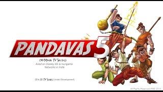 Pandavas 5-P5 Comix Motion Graphic