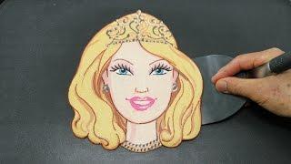 Making Barbie Doll PANCAKE
