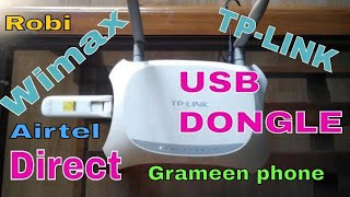 Banglalion Wimax Usb Dongle to Tp-Link Router Direct...