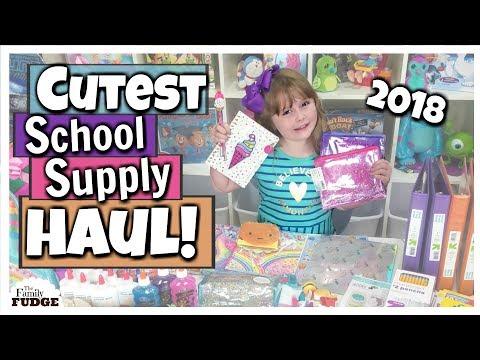 MASSIVE SCHOOL SUPPLY HAUL ❤️ Back to School 2018