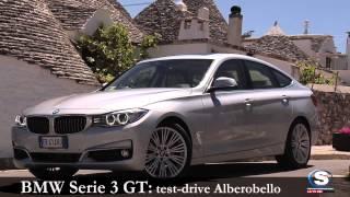 BMW SERIE 3 GT 2013: prova su strada Alberobello