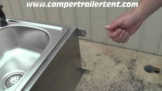 Camper Trailer Kitchen Box