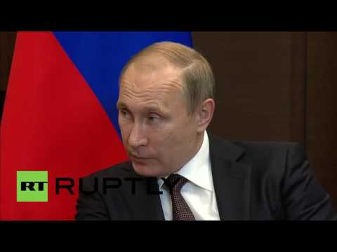 Russia: Putin discusses bilateral ties with Indonesian Pres. Widodo