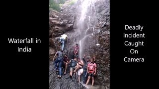 Waterfall Deadly Incident Caught on Camera[hd]