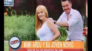 Día de revistas: Mimí Ardú y su joven novio - AM