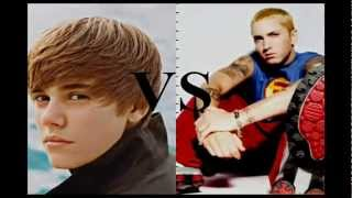 Eminem Vs Justin Bieber  Who is the best ?