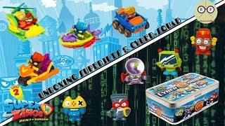 Mega Unboxing SuperJets & Cyber Squad SuperZings Serie 2   ¡Todos los vehículos de Kaboom City!