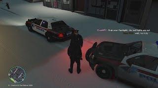 LibertyESA - GTAIV LCPD:FR Patrol #34 Crazy Media Reporter [HD]
