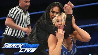 Charlotte Flair vs. Tamina: SmackDown LIVE, Dec. 5, 2017