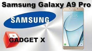 Микро обзор на русском Samsung Galaxy A9 Pro новое