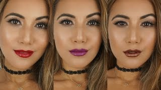 Lipstick Is My Vice | My favourite Urban Decay Lipsticks | Lip Swatches | Through Mona