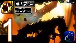 BADLAND 2 Android iOS Walkthrough - Gameplay Part 1 - Jungle 1-5