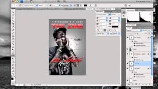 PHOTOSHOP TUTORIAL - HOW TO MAKE A MAGAZINE COVER