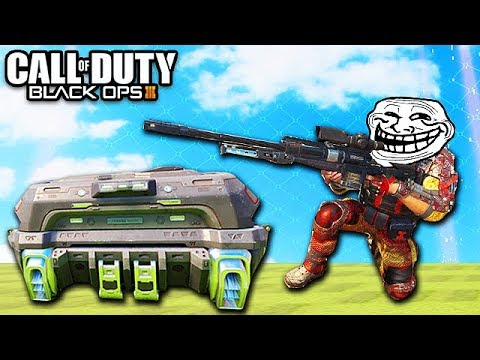 Black Ops 3 Ninja Trolling! - Mr. Steal Your Care Package! (Funny Fails, Ninja Montage, The Flash)