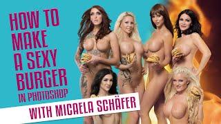 Micaela Schäfer Erotik-Kalender 2018 -BURGER- MakingOf - TOBIAS DÖRER PHOTODESIGN
