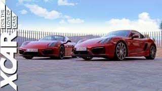 Porsche Cayman GTS vs. Porsche Boxster GTS - XCAR