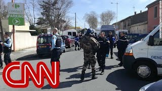 One dead in France supermarket hostage-taking