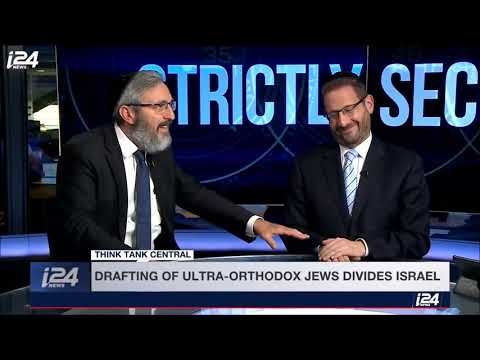 Xxx Mp4 Debate About Haredim Serving In The IDF On I24 News 3gp Sex