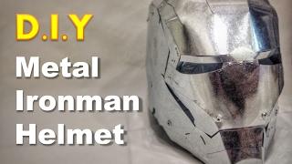 Real Metal Ironman Helmet