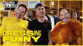 Tan France Makeover Of Big Mouth's Nick Kroll & Andrew Goldberg | Dressing Funny | Netflix Is A Joke