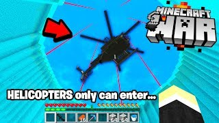 This TOP SECRET Minecraft BASE has only one ENTRANCE inside! (WOW)