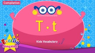 Kids vocabulary compilation - Words starting with T, t - Learn English for kids