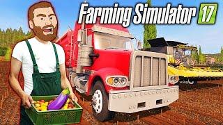 FARMER HIKE: BIG RED SEMI - Farming Simulator 2017 Gameplay